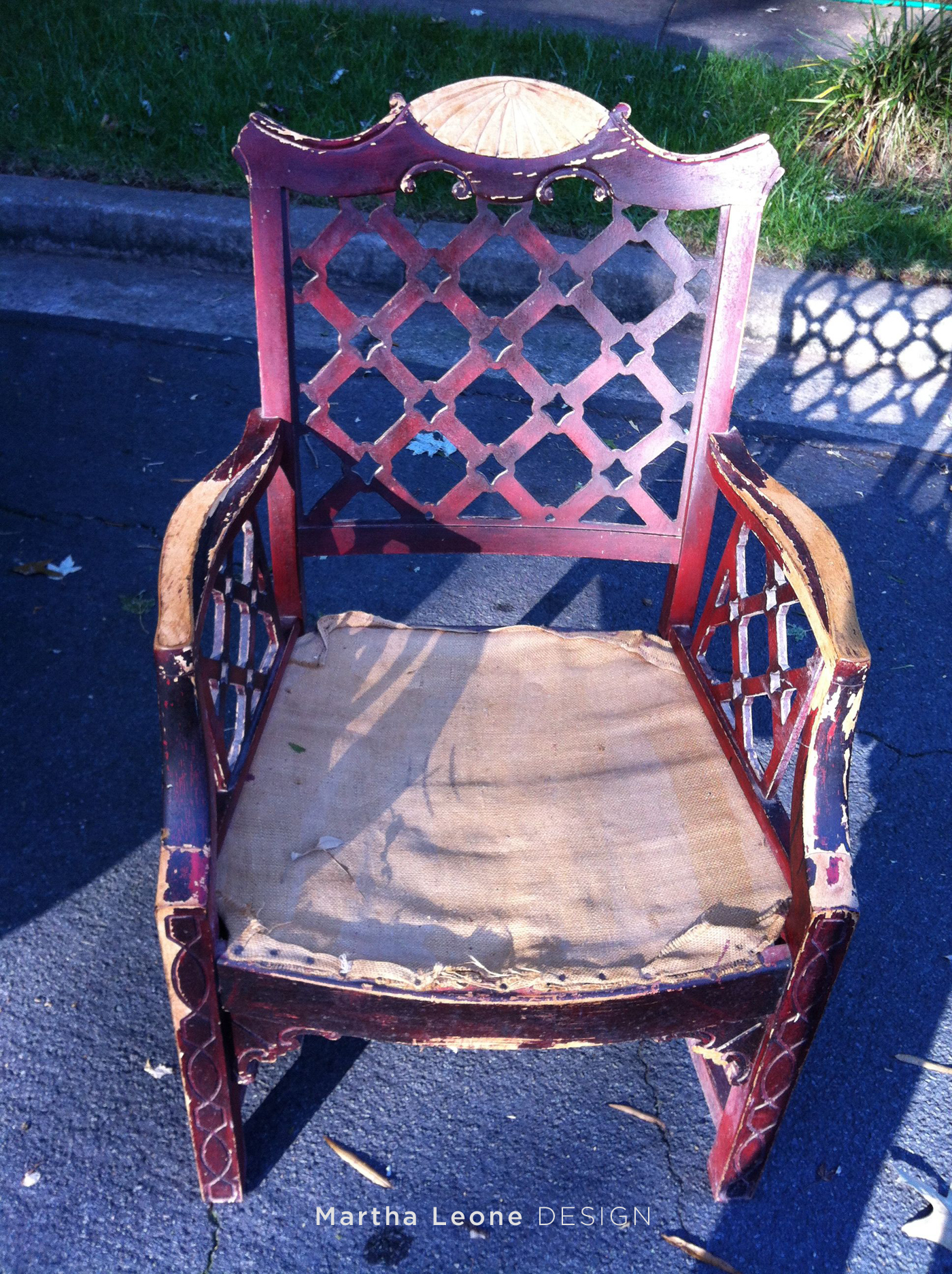 Michigan Chair Before