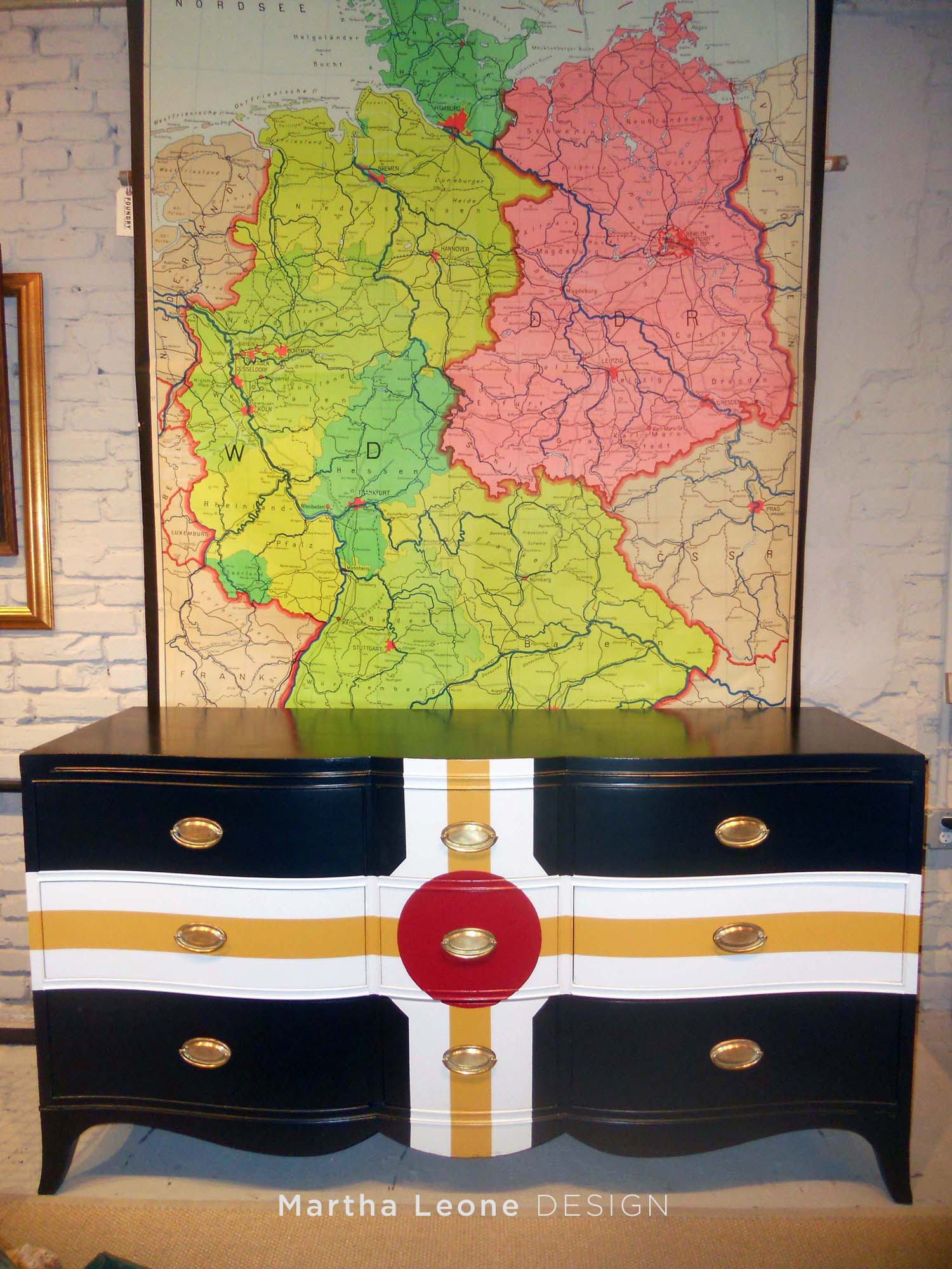 Parcheesi Dresser from MarthaLeoneDesign
