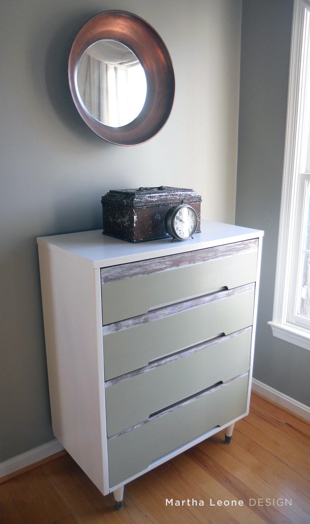 MCM Striped Dresser 4