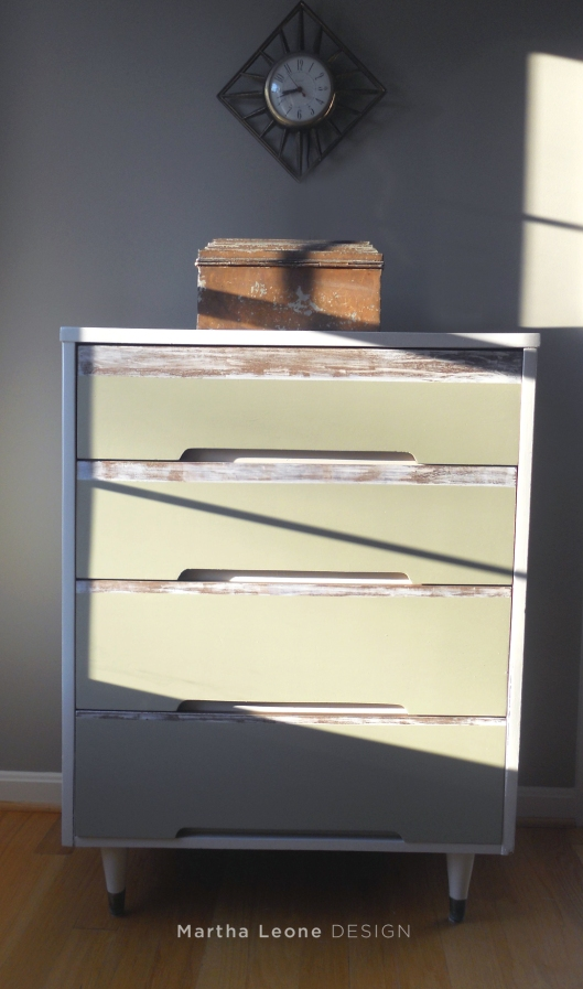 MCM Striped Dresser 5