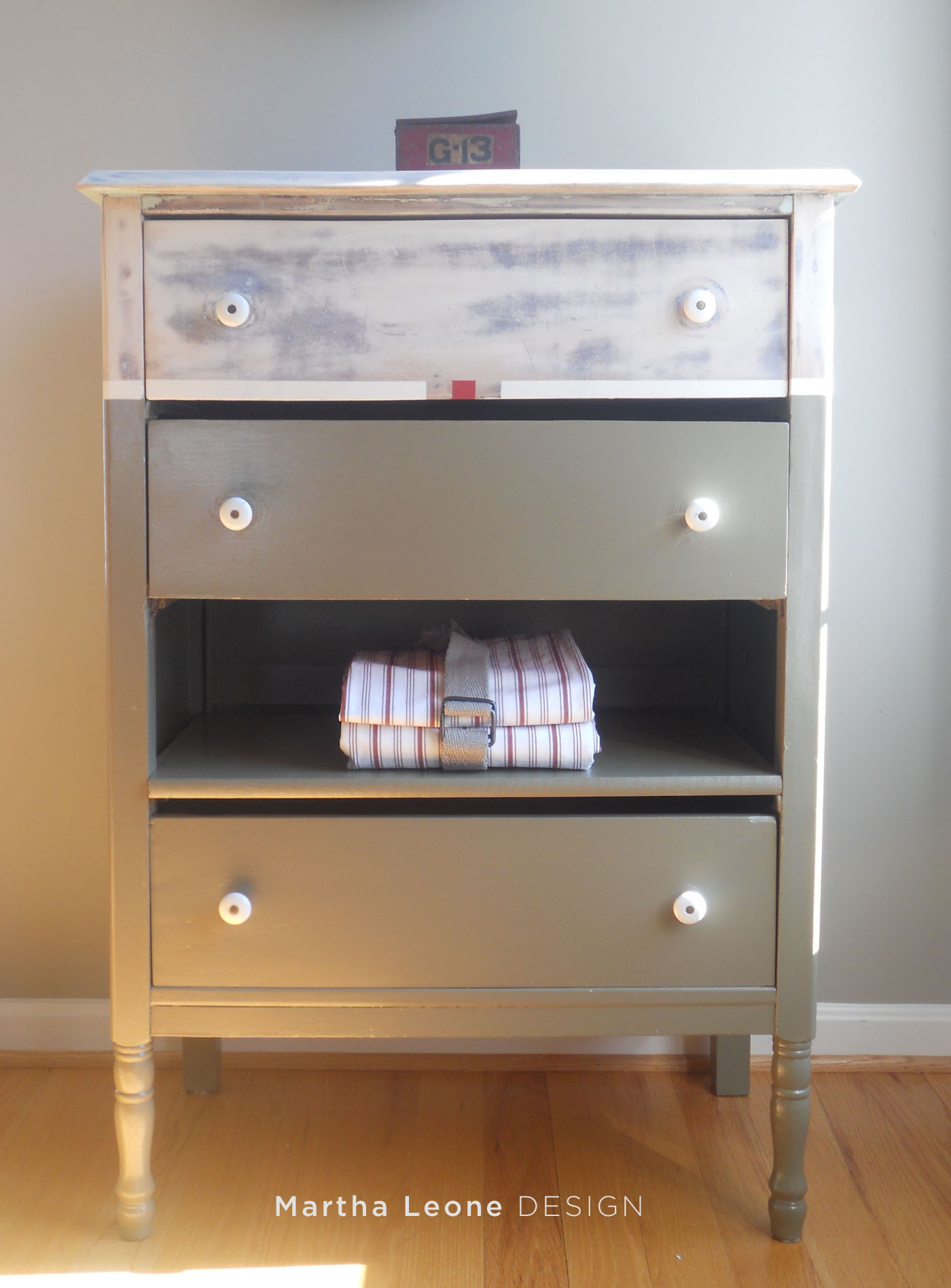 Army Dresser 1 at MarthaLeoneDesign