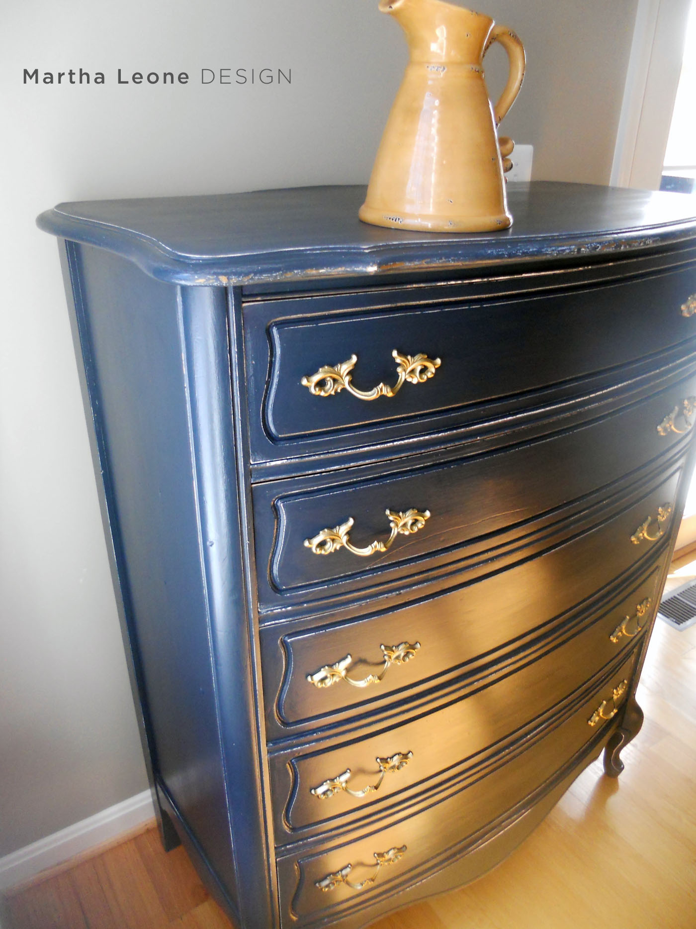 French Blue Dresser 6 MarthaLeoneDesign