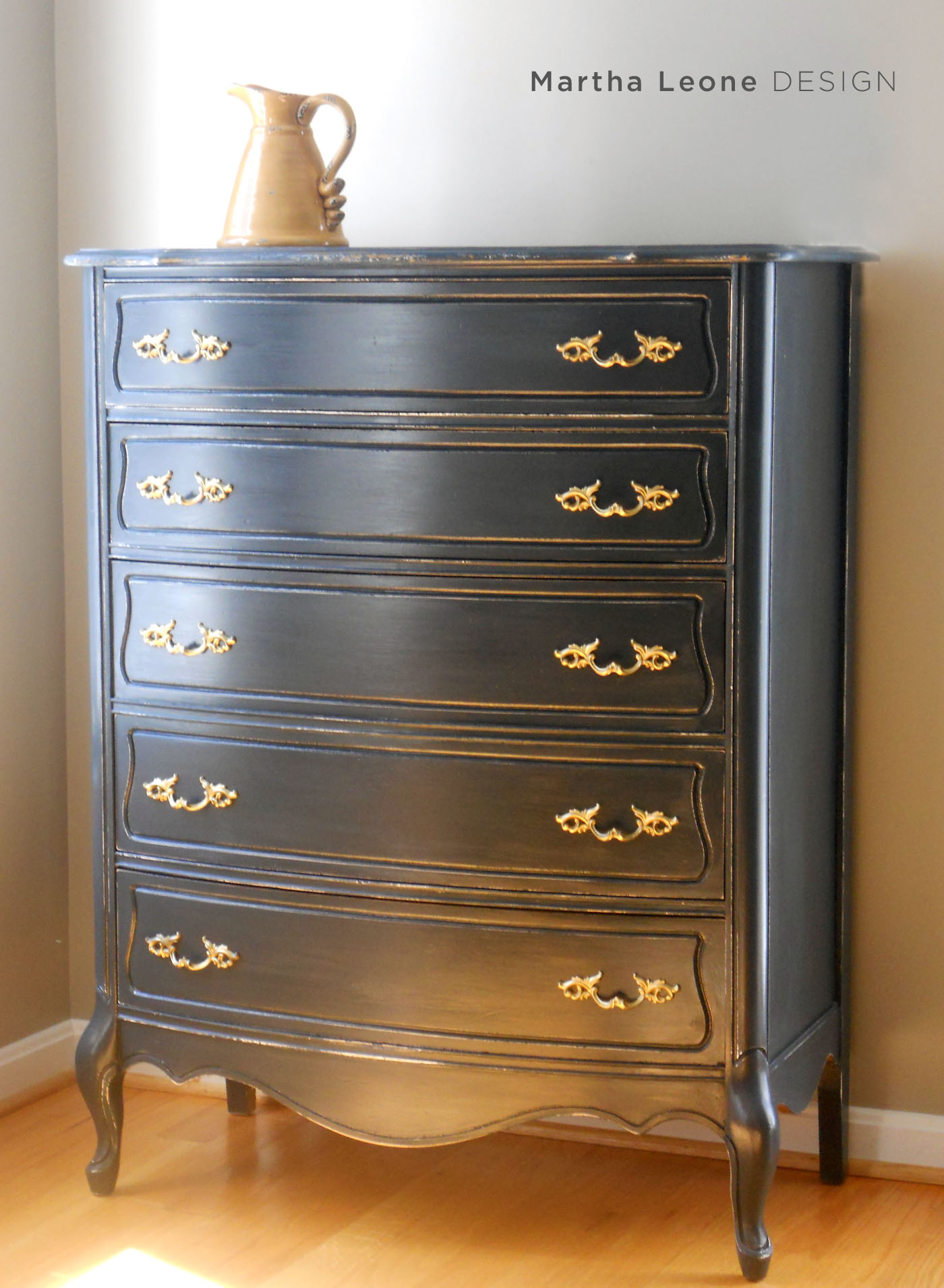 French Blue Dresser 8 MarthaLeoneDesign