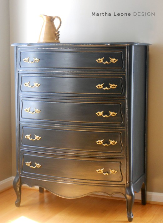 French Blue Dresser at MarthaLeoneDesign