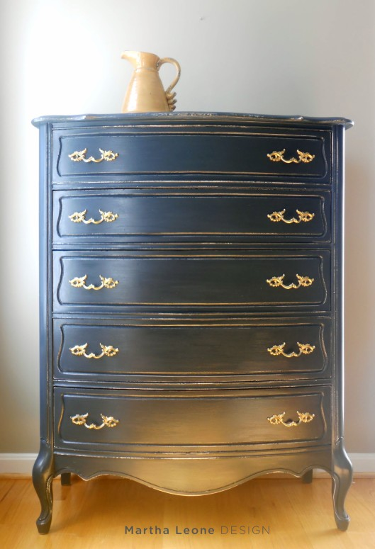 French Blue Dresser MarthaLeoneDesign