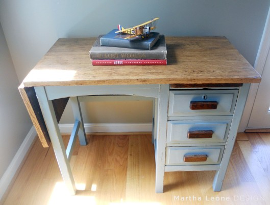 Blue Desk MarthaLeoneDesign