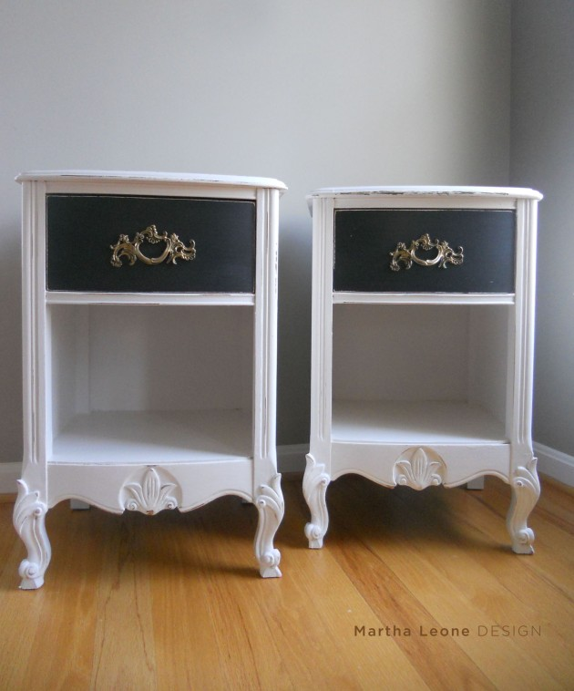 French Provençal Nightstands