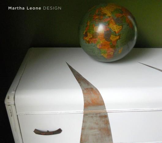 Furniture renovation martha leone design for Waterfall design etsy