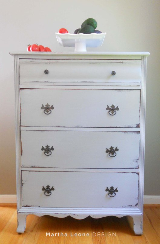 Gray Dresser at MarthaLeoneDESIGN
