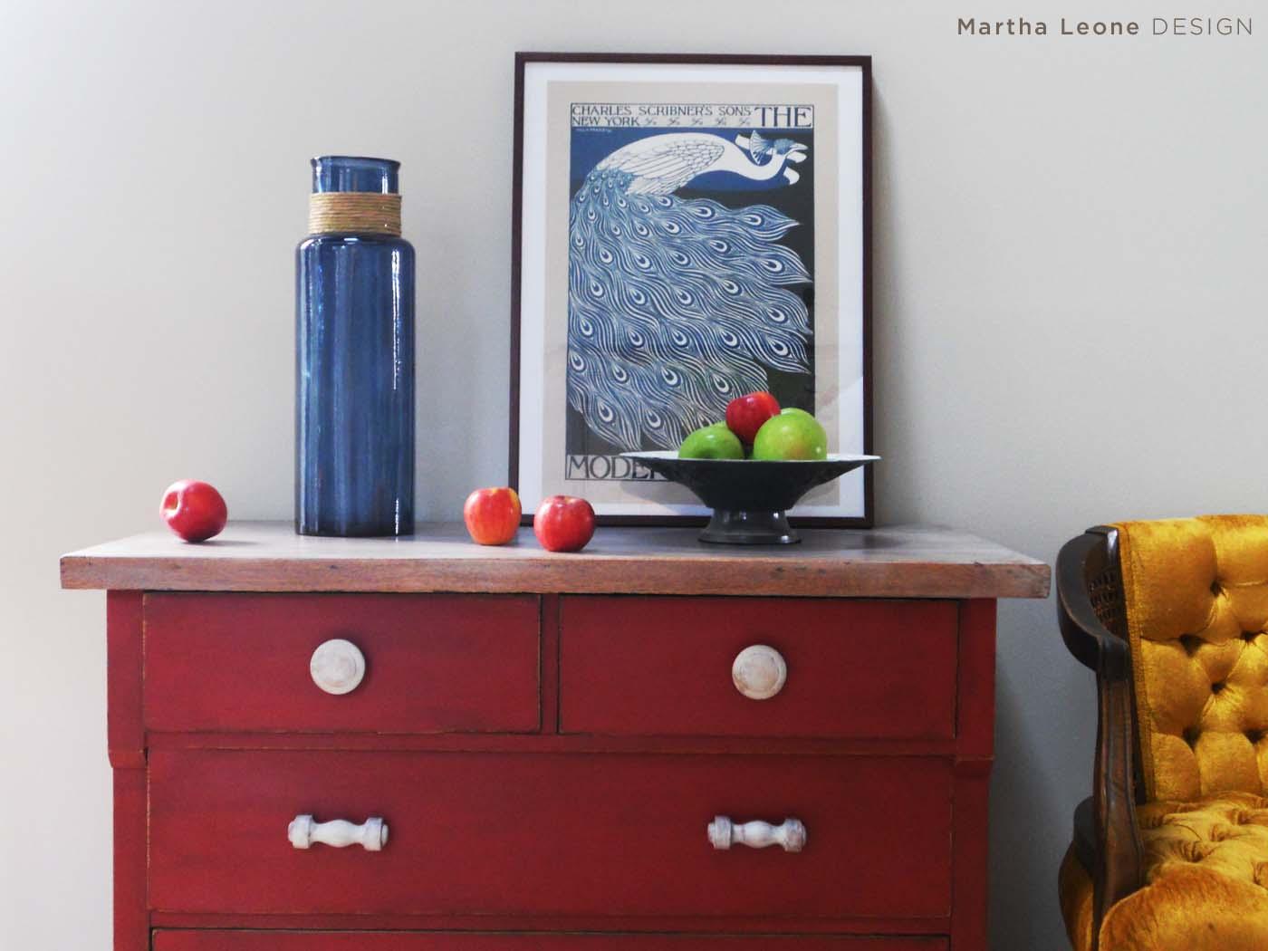 Red Short Dresser 5