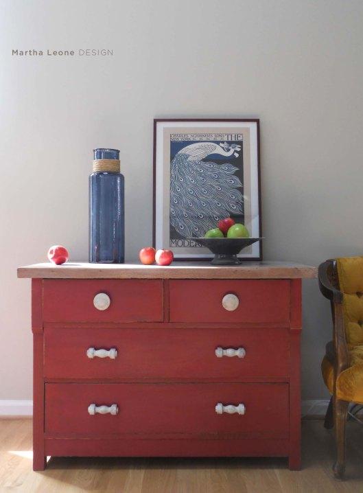 Red Short Dresser 6