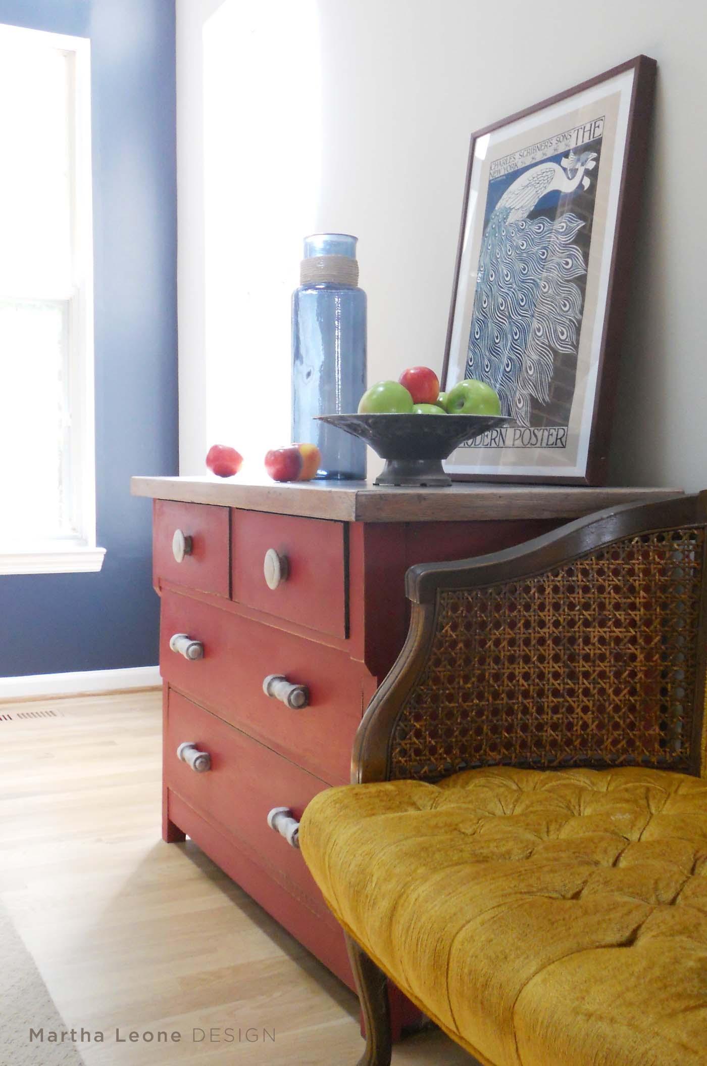 Red Short Dresser 8