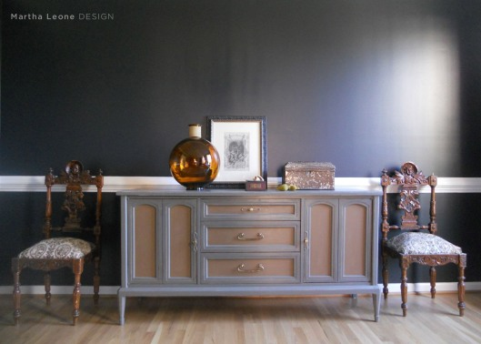 Gray Buffet Martha Leone Design