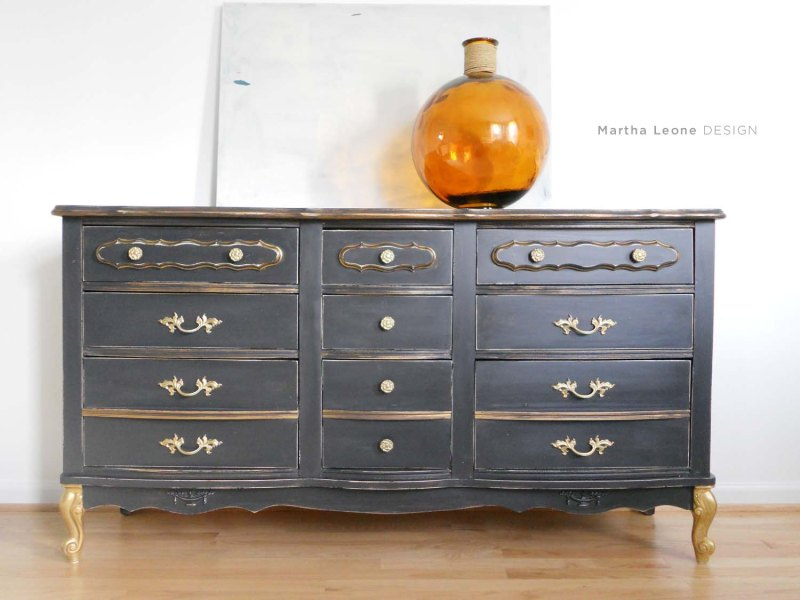 Black French Dresser7 MarthaLeoneDesign