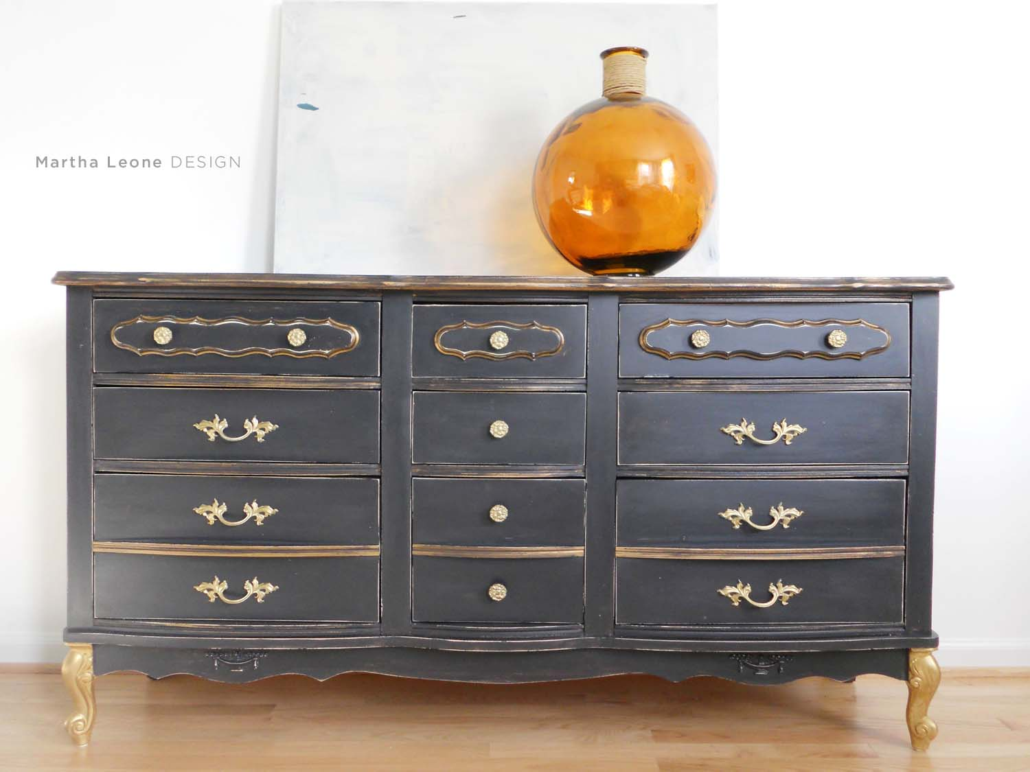 Black French Dresser8 MarthaLeoneDesign