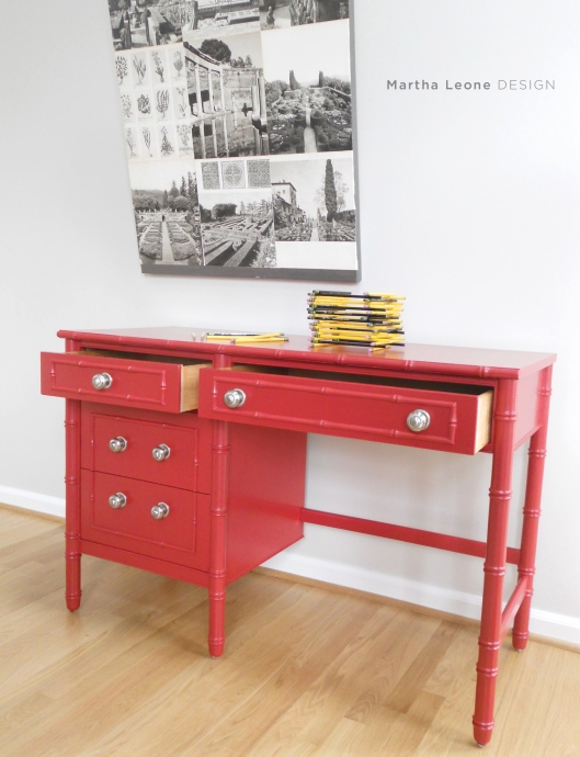 Red desk4 MarthaLeoneDesign