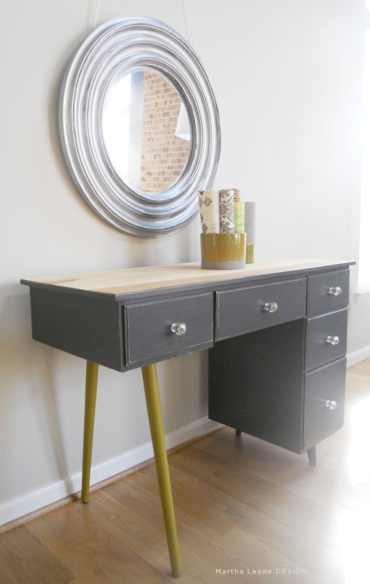 83 Mid century3 desk Martha Leone Design