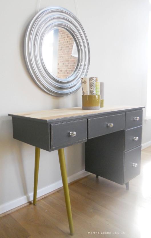 83 Mid century3 desk Martha Leone Design