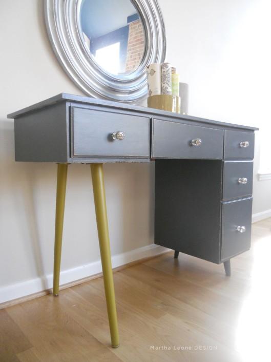 83 Mid century4 desk Martha Leone Design