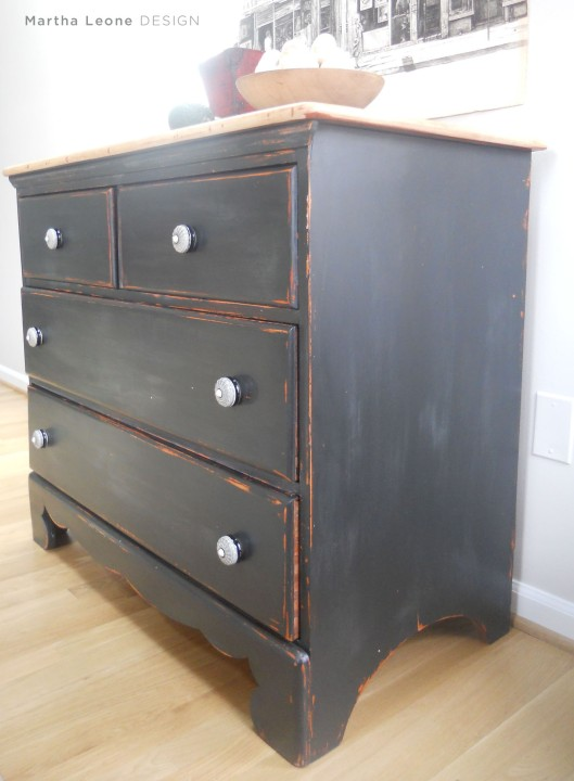 Black Chest of Drawers7 Martha Leone Design