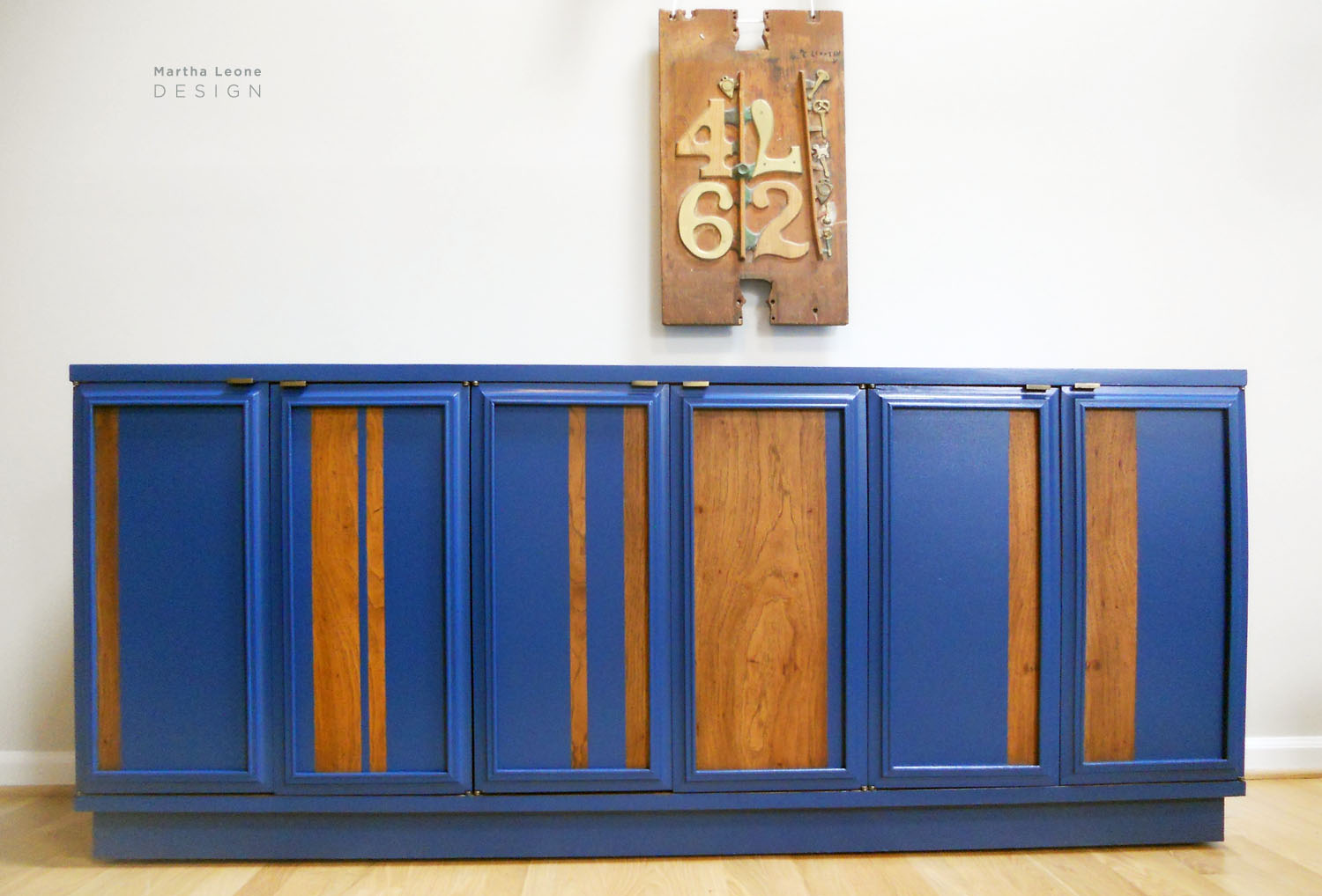 Blue Credenza2 by MarthaLeoneDesign