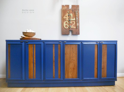 Blue Credenza4 by MarthaLeoneDesign