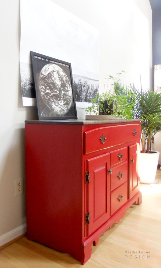 #104 Red Buffet2 by Martha Leone Design
