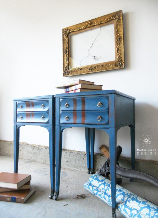 End tables2 by Martha Leone Design