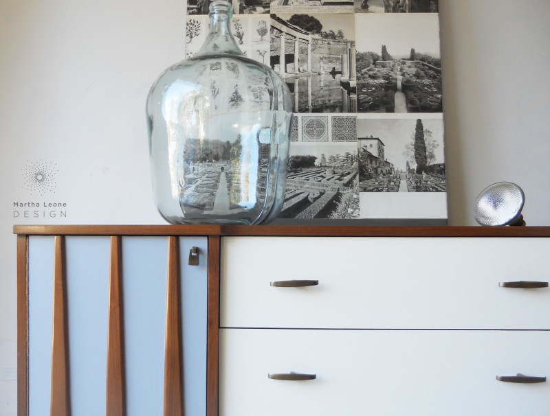 Gray-Cream Dresser by Martha Leone Design