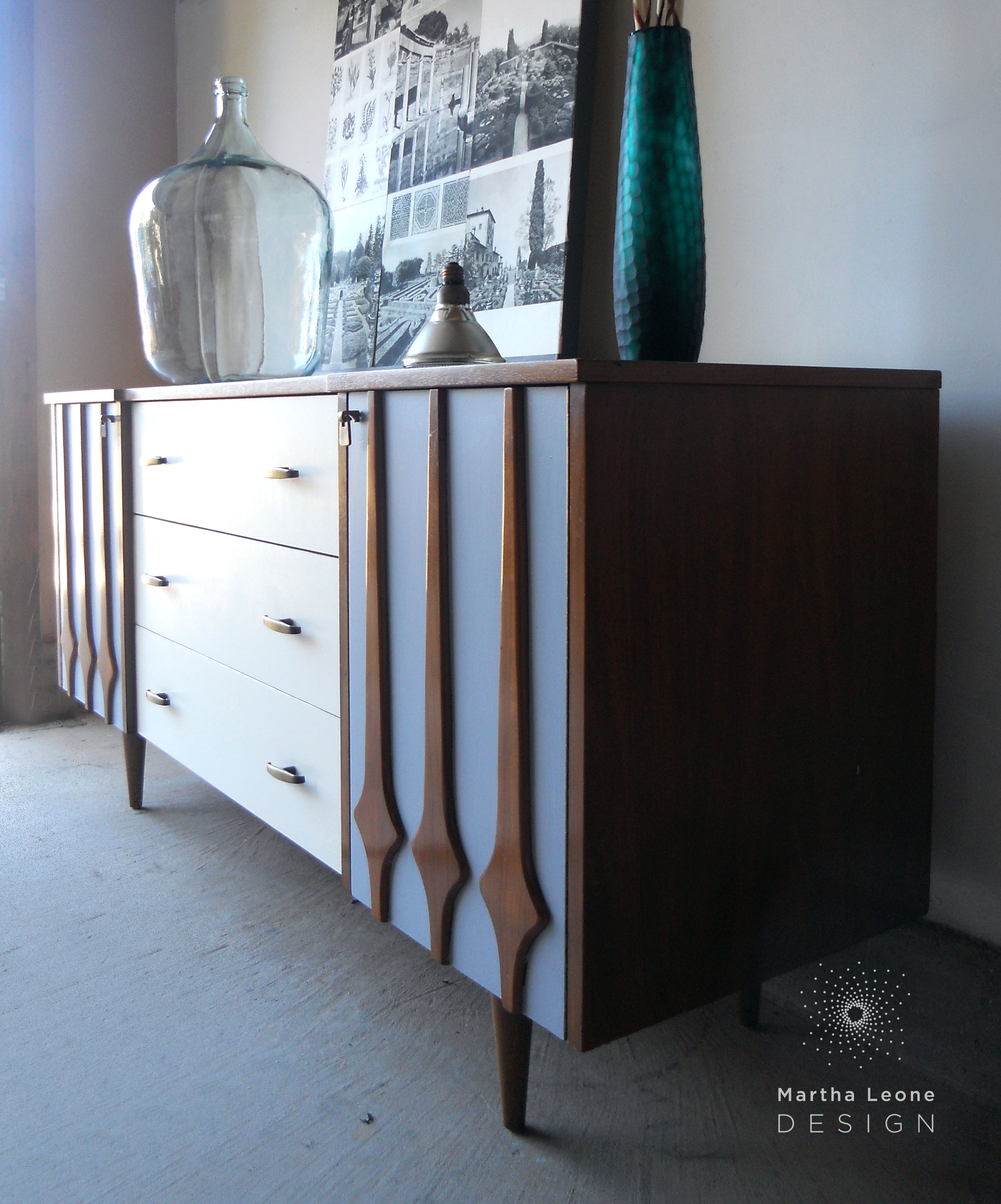 Gray-Cream3 Dresser by Martha Leone Design