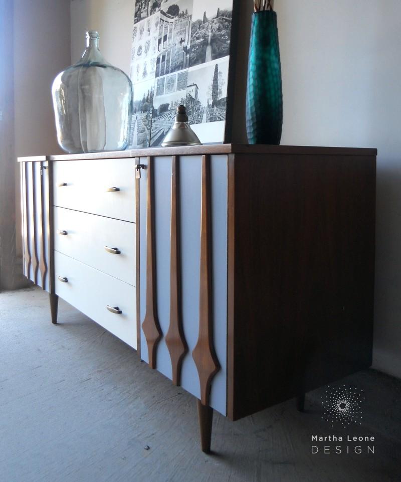 Gray-Cream3 Dresser by Martha Leone Design