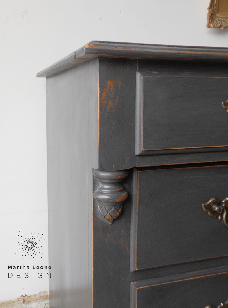 Maple Charcoal Buffet1 by Martha Leone Design