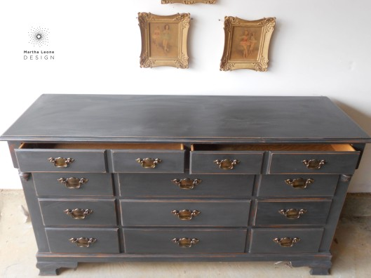 Maple Charcoal Buffet4 by Martha Leone Design