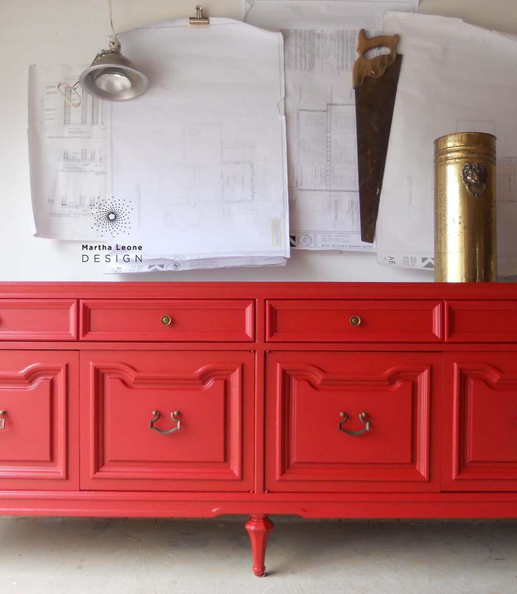 Red buffet5 by Martha Leone Design copy