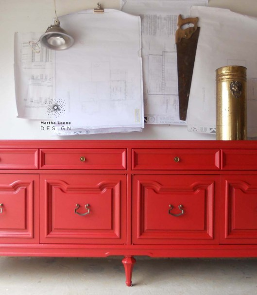 Red buffet5 by Martha Leone Design copy