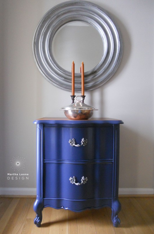 Blue French Stand by martha leone design